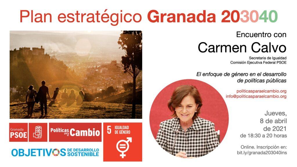Encuentro con Carmen Calvo