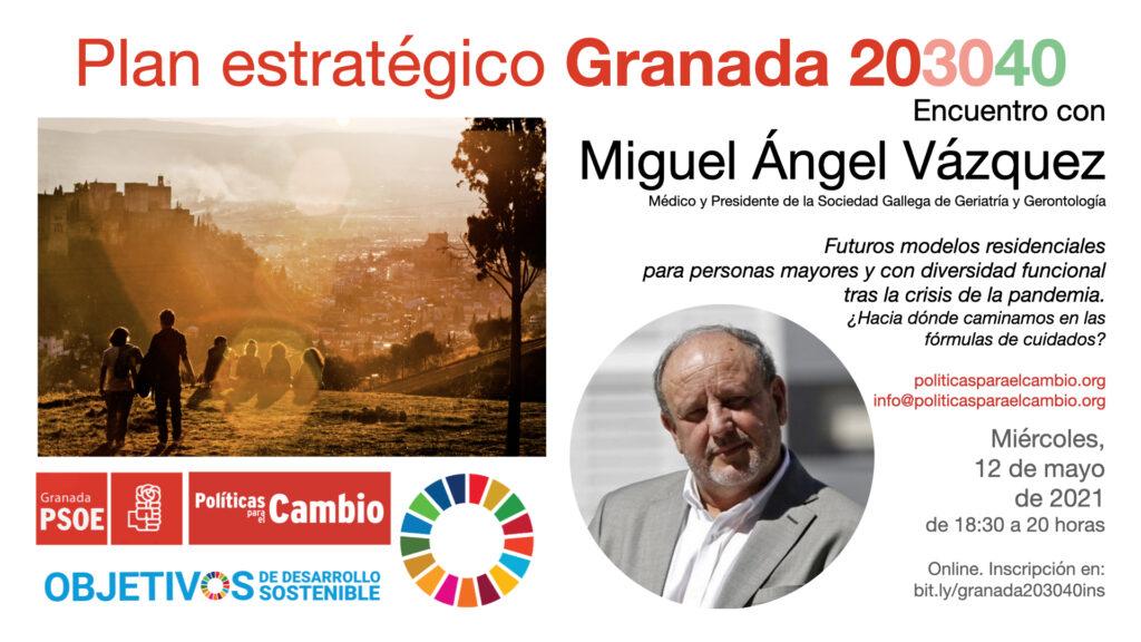 Encuentro con Miguel Ángel Vázquez sobre futuros modelos residenciales para personas mayores y con diversidad funcional