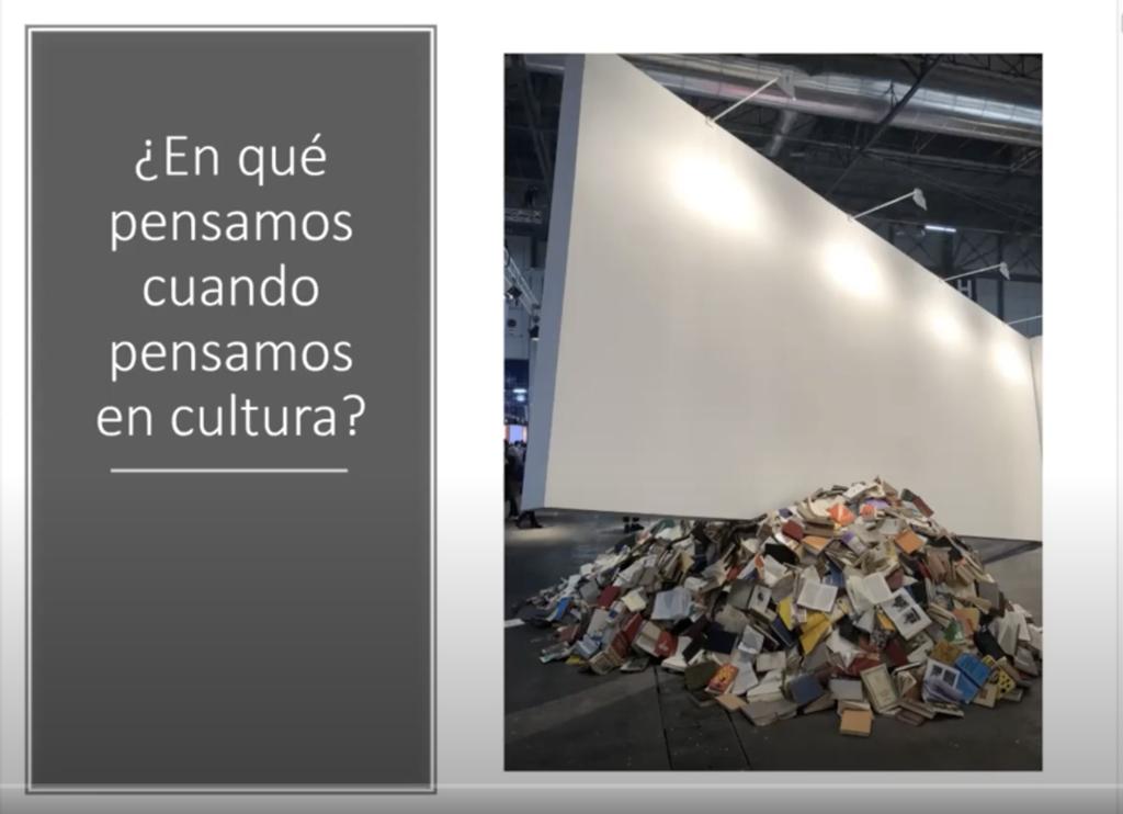 Ana García reivindica la capacidad para generar riqueza a través de la cultura