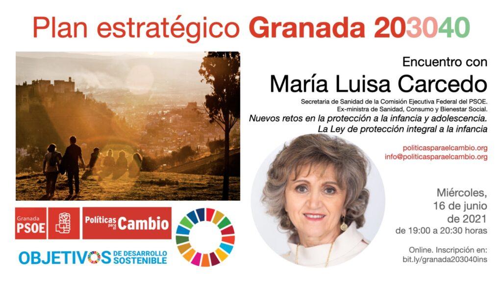 Encuentro con María Luisa Carcedo sobre la infancia